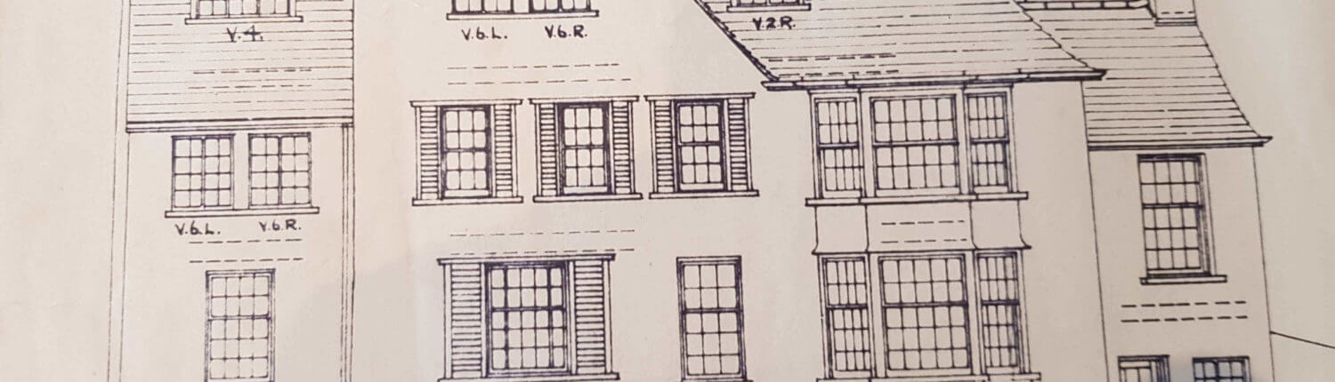 Denton Surveyors. Building Plan of an old traditional house